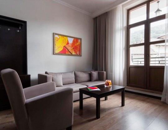 Апартамент с 2 спальнями, от 65 кв.м +540 м