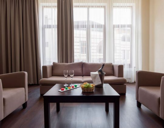 Апартамент с 5 спальнями, от 103 кв.м +540 м
