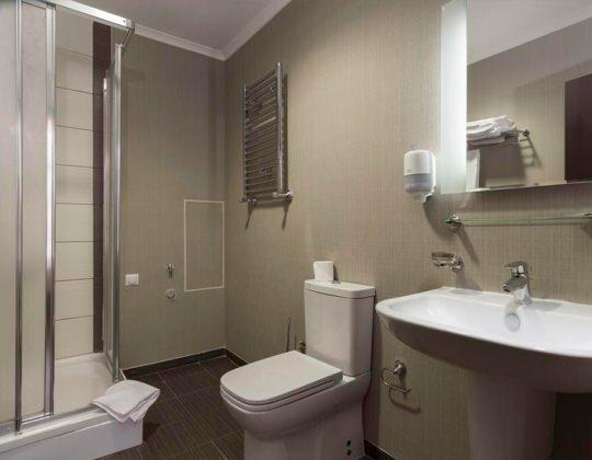 Апартаменты с 3 спальнями, стандарт от 85 кв.м +540 м