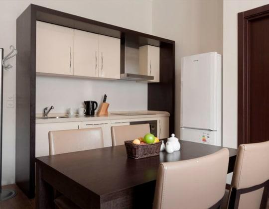 Апартамент с 1 спальней, от 48 кв.м +960 м
