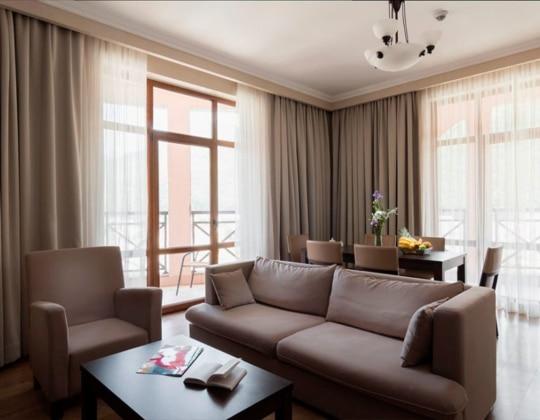 Апартамент с 2 спальнями, от 75 кв.м +960 м